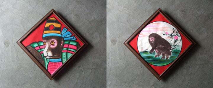 吉川染工房の仕事と絵金展